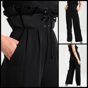 LOST INK ♠️ Corset Paper Bag Waist Trousers NWT